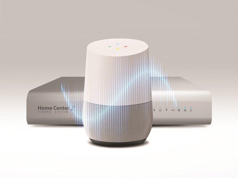 Fibaro i Google Home